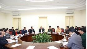 Phó Thủ tướng Trương Hòa Bình chủ trì cuộc họp. Ảnh: VGP