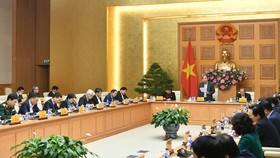 Thủ tướng chủ trì phiên họp
