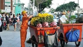 Hơn 1.900 công nhân đảm bảo vệ sinh dịp tết