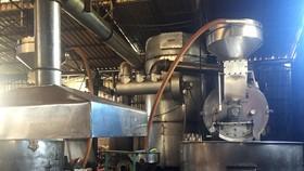 Chuyển giao công nghệ xử lý khí thải từ dây chuyền rang, trộn hạt cà phê