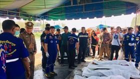 Tai nạn ở Thái Lan, 5 lao động Việt Nam thiệt mạng