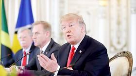 Tổng thống Donald Trump gặp gỡ các nhà lãnh đạo vùng Carribe tại Florida             Ảnh: Washington Times