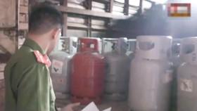 Bắt quả tang cơ sở sang chiết gas trái phép quy mô lớn