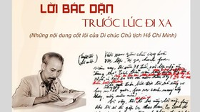 Xây dựng đội ngũ cán bộ trẻ theo Di chúc Chủ tịch Hồ Chí Minh