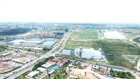Khu Công viên khoa học và công nghệ được quy hoạch tại phường Long Phước, quận 9, TPHCM    Ảnh: CAO THĂNG