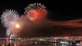 TPHCM bắn pháo hoa chào mừng năm mới 2018