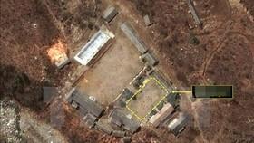 Hình ảnh vệ tinh vị trí bãi thử hạt nhân Punggye-ri