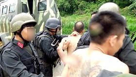 Một số đối tượng liên quan tới 2 trùm ma túy ở Lóng Luông bị bắt giữ