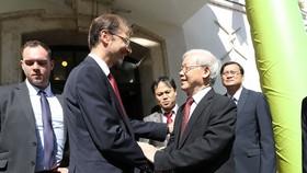 Thị trưởng Verseghi - Nagy Miklós đón Tổng Bí thư Nguyễn Phú Trọng