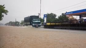 """""""Hậu bão số 9"""" vẫn gây mưa lớn trên diện rộng"""