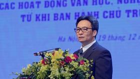 Phó Thủ tướng Vũ Đức Đam phát biểu tại Hội thảo. Ảnh: VGP