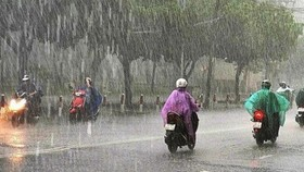 Đợt mưa lũ sắp xuất hiện ở miền Bắc