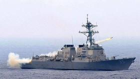 Tàu hải quân Mỹ đi vào biển Đông