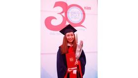 Nguyễn Thị Mỹ Ngọc tại Lễ trao Giải Loa Thành 2018, vào tháng 12 vừa qua tại Hà Nội