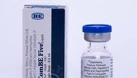 Tỷ lệ phản ứng sau tiêm vaccine ComBe Five nằm trong giới hạn