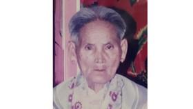 Mẹ Việt Nam Anh hùng Đỗ Thị Thương từ trần
