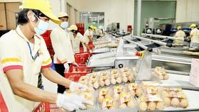 Dây chuyền trứng sạch của Công ty Ba Huân Ảnh: VIỆT DŨNG