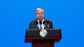 Tổng Thư ký Liên hợp quốc Antonio Guterres. Ảnh: AP
