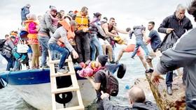 Người di cư vượt biển vào châu Âu