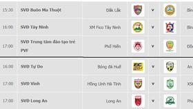 Lịch thi đấu vòng 9 - Giải hạng nhất Quốc gia LS 2019 (ngày 1 và 2-6)