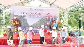 Công ty CP Tập đoàn Xây dựng Hòa Bình khởi công dự án mới tại Hưng Yên
