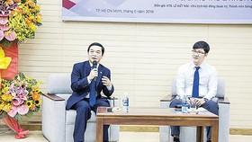 Chủ tịch HĐQT, Tổng Giám đốc Lê Viết Hải làm diễn giả chương trình Sáng tạo và Khởi nghiệp