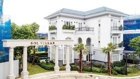 Cận cảnh một biệt thự Sol Villas