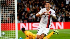 Di Maria góp công lớn cho Paris Saint Germain khi lập cú đúp vào lưới Real Madrid