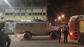 """Seventeen people have been killed and eight injured in a """"terrorist attack"""" on a restaurant in Burkina Faso's capital, the government said on Monday."""