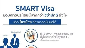 Thailand now accepts Smart Visa registration