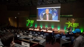 ndonesia's 12 initiatives in information and communication technology won awards from the United Nations during the World Summit on the Information Society (WSIS) Forum 2018 in Geneva (Source: ITU)