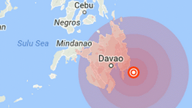 Philippines rocked by 5.9 magnitude quake