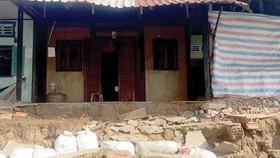 Landslides occur in Hau Giang's localities