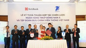 VNPT & SeABank at the signing ceremony -Photo: DTTC