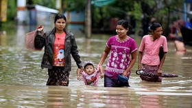 Floods leave five dead, 54,000 displaced in Myanmar