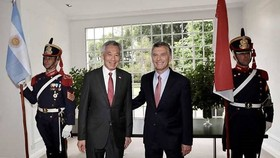 Singapore, Argentina agree to boost economic ties