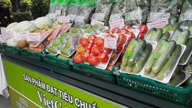 produce to participate in the fair meet certification of VietGAP, Global GAP
