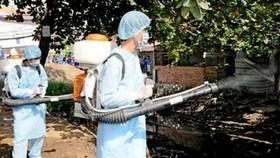 Phun hóa chất diệt muỗi thường xuyên để ngăn chặn dịch SXH đang bùng phát