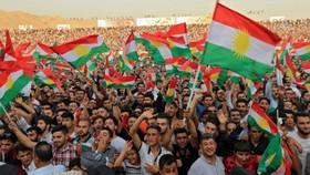 Một cuộc mít tinh đòi độc lập của người Kurd ở Iraq