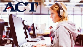Từ tháng 9-2018, bài thi ACT thực hiện hoàn toàn trên máy tính