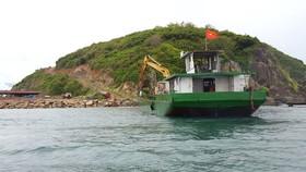 Dự án Hòn Rùa Nha Trang bị cạo trọc