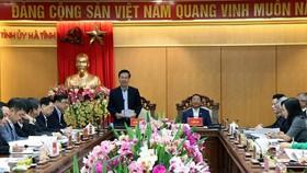 Hà Tĩnh đẩy mạnh phòng chống tham nhũng