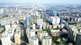 Một góc khu vực nội đô Hà Nội. Ảnh: PHẠM HÙNG