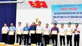 """Đảng bộ Xổ số kiến thiết Đồng Tháp đạt tiêu chuẩn """"Trong sạch, vững mạnh"""" tiêu biểu năm 2018"""