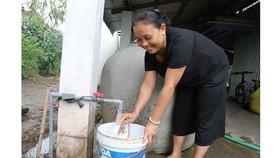 Công trình thanh niên đưa nước sạch về giúp bà con vùng sâu ở Kiên Giang