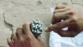 Khởi tố đối tượng tàng trữ trái phép gần 40kg thuốc nổ