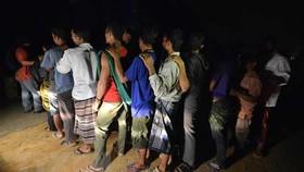 Malaysia: Bắt gần 1.500 người nhập cư bất hợp pháp