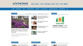 Hội Nhà văn TPHCM giới thiệu website mới