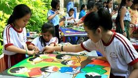 4.187 học sinh tham dự chung khảo Hội thi Nét vẽ xanh 2019