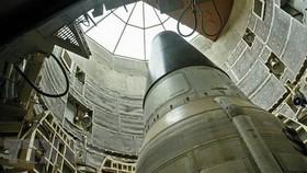 Tên lửa liên lục địa mang đầu đạn hạt nhân Titan II của Mỹ. Ảnh: Sputnik/TTXVN